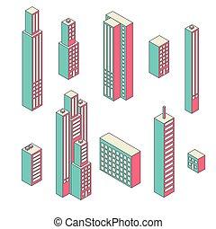 ψηλός , κτίρια , μικροβιοφορέας , θέτω