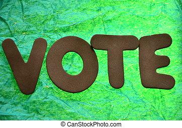 ψηφίζω