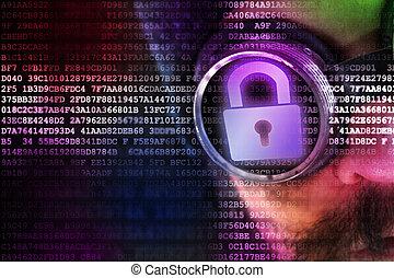 ψηφιακός , ασφάλεια , γενική ιδέα