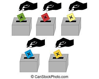 ψηφοφορία , άνθρωποι
