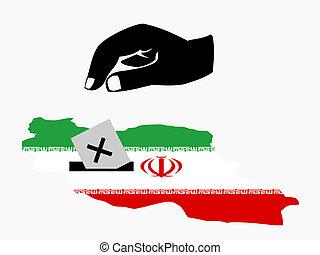 ψηφοφορία , εκλογή , ιρανός