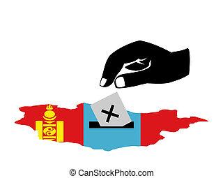 ψηφοφορία , εκλογή , μογγολικός