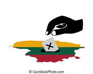 ψηφοφορία , λιθουανία , εκλογή