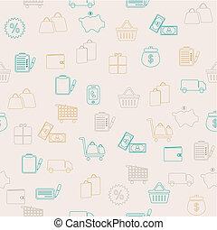 ψώνια , seamless, πρότυπο
