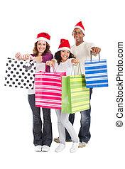 ψώνια , xριστούγεννα , οικογένεια
