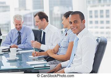 ωραία , διατυπώνω , επιχειρηματίας , δωμάτιο συναντήσεων