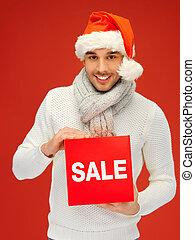 ωραία , καπέλο , xριστούγεννα , άντραs