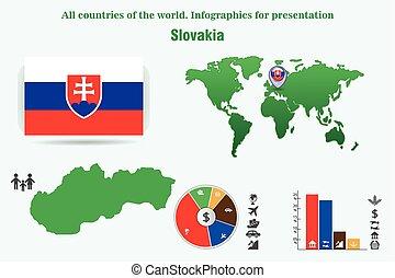 όλα , άκρη γηπέδου , world., slovakia., infographics, παρουσίαση