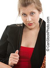 όμορφη , αυτήν , επιχειρηματίαs γυναίκα , twenties , ξανθή , καυκάσιος