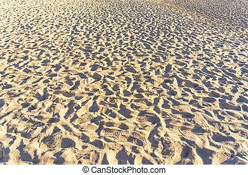 όμορφος , ή , πλοκή , φόντο , άμμοs , επιφάνεια , backdrop