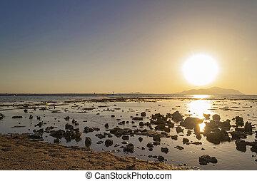 όμορφος , αίγυπτος , σινά , ηλιοβασίλεμα , sea.