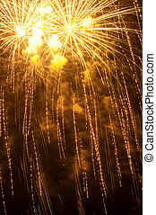 όμορφος , ακτινοβολώ , πυροτεχνήματα , διάθεση , εορταστικός