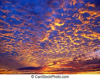 όμορφος , ηλιοβασίλεμα