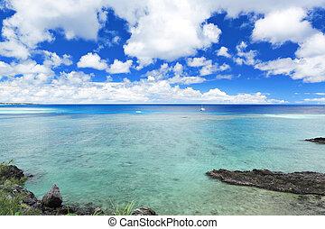 όμορφος , θάλασσα , okinawa