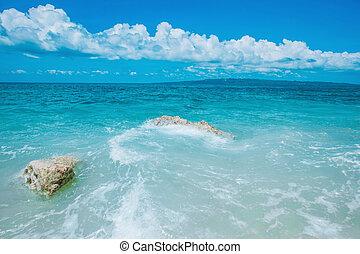όμορφος , καλοκαίρι , θάλασσα , τοπίο