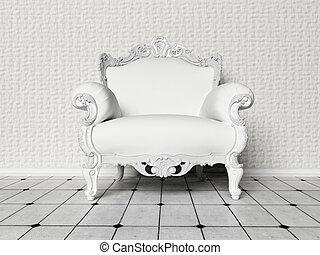 όμορφος , καρέκλα , αγαθός δωμάτιο
