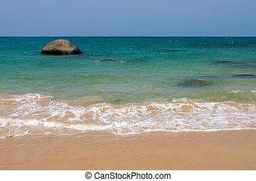 όμορφος , σιάμ , παραλία , τοπίο
