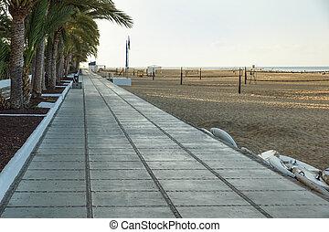 όμορφος , τέχνη , πάνω , τροπικός , διάδρομος , παραλία , ανατολή