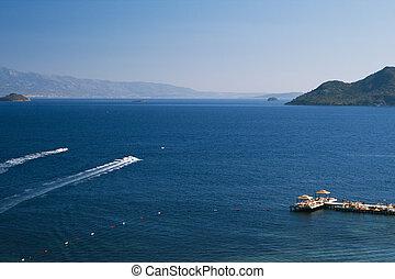 όμορφος , τροπικός , λιμνοθάλασσα