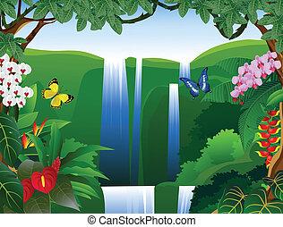 όμορφος , φύση , φόντο