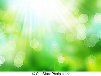 όμορφος , φύση , bokeh., φόντο , θολός