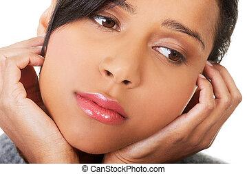 όμορφος , depression., γυναίκα , νέος