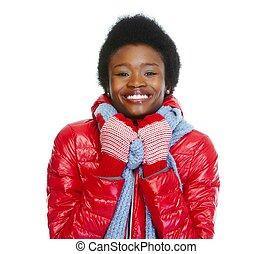 όμορφος , girl., african-american