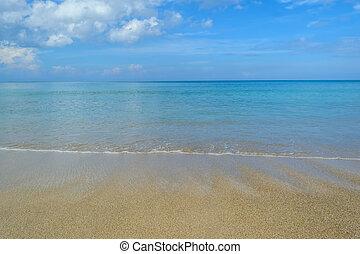 όμορφος , phuket , ουρανόs , σιάμ , παραλία , kamala