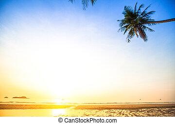 όμορφος , (picture, διάστημα , text), ηλιοβασίλεμα , θάλασσα , παραλία , δικό σου