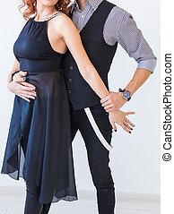 όμορφος , salsa, γενική ιδέα , kizomba, ζευγάρι , ταγκό , - , χορεύω , πάνω , χορός , φόντο , κοινωνικός , κλείνω , άσπρο , bachata, άνθρωποι