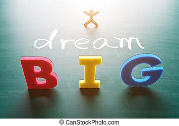 όνειρο , γενική ιδέα , μεγάλος