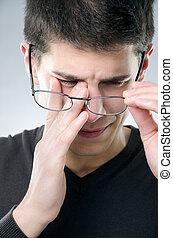 όραση , πρόβλημα , άντραs