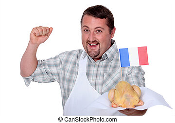 όρνιθες , ποδιά , γαλλίδα , γιορτάζω , άσπρο , άντραs