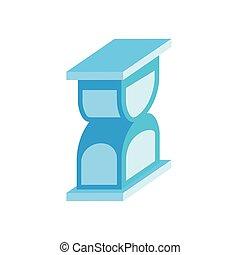 ώρα , εικόνα , isometric , κλεψύδρα , ρυθμός