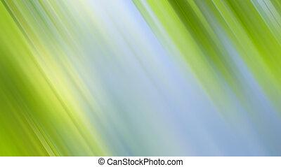абстрактные, зеленый, природа, задний план