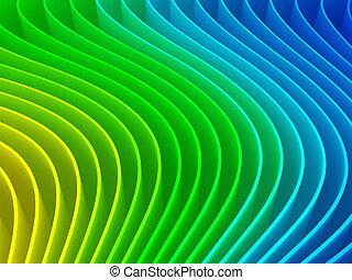абстрактные, красочный, задний план, 3d