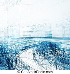 абстрактные, прозрачный