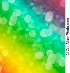 абстрактные, размытый, bokeh, зеленый, задний план, или