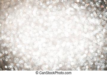 абстрактные, серебряный, задний план, рождество