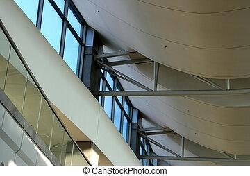 абстрактные, современное, архитектура