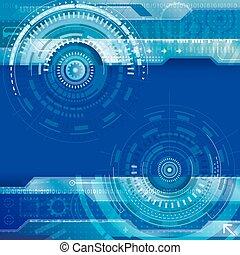 абстрактные, технологии, задний план