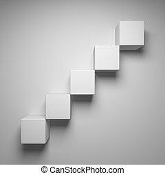 абстрактные, cubes
