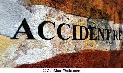 авария, доклад, гранж, концепция
