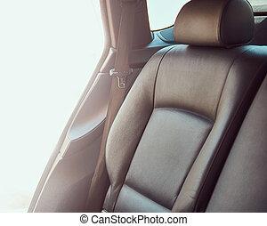автомобиль, внутри, черный, роскошь, interior.