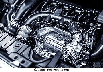 автомобиль, двигатель