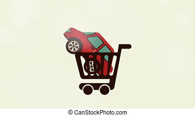 автомобиль, купить, анимация, видео, дизайн