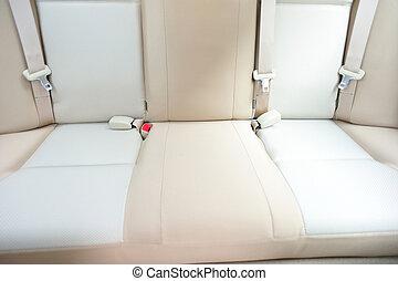 автомобиль, назад, сиденье