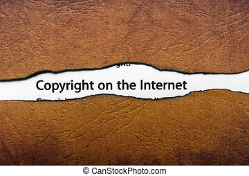 авторские права, интернет