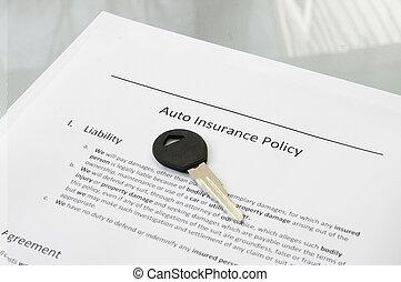 авто, крупным планом, ключ, автомобиль, политика, страхование