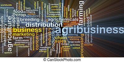 агробизнес, пылающий, концепция, задний план